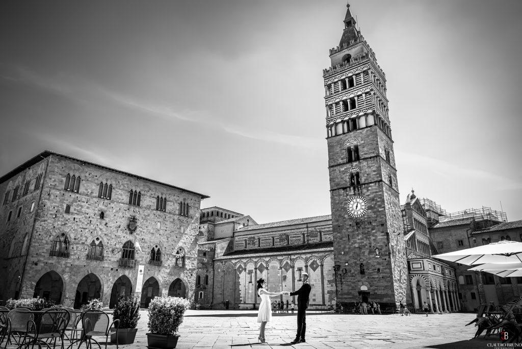 Matrimonio in piazza Duomo