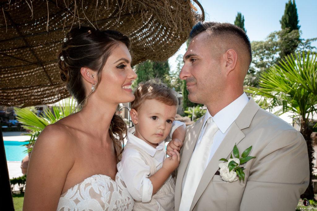 Newlyweds family .